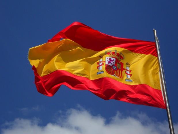 pexels-pixabay-54097. Billede af det spanske flag. Taget af Pixabay