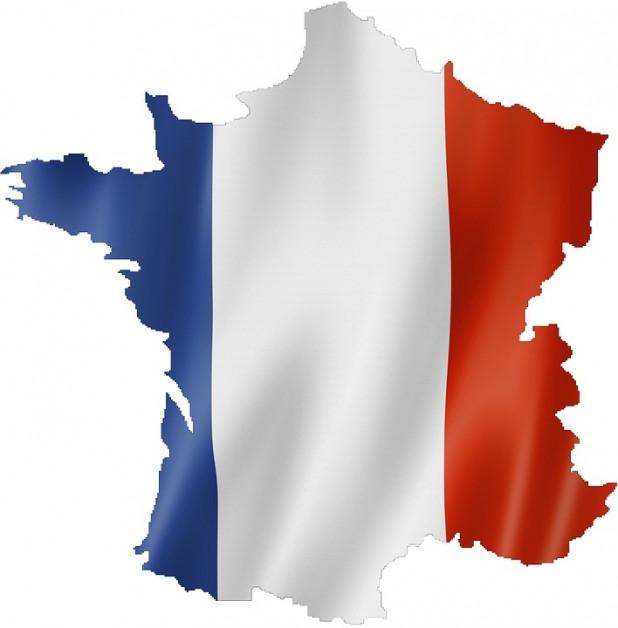 france-1020956_960_720. Billede af det franske flag, der dækker Frankrig