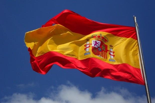 Spansk-pexels-pixabay-54097. Billede af det spanske flag. Taget af Pixabay