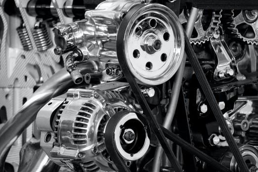 Motorlære. Billeder af motor