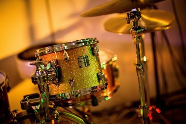 Musical - Band. Billede af tromme